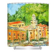 Italy - Portofino Shower Curtain