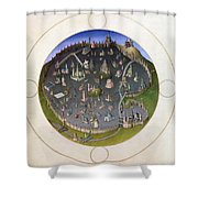 Italy: Rome, 15th Century Shower Curtain