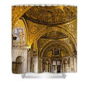 Italy - St Marks Basiclica Venice Shower Curtain