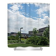 Ithaca College Campus Shower Curtain by Photographic Arts And Design Studio