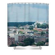 Ithaca New York And Cornell University Shower Curtain