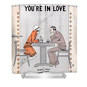 Its A Million To One You're In Love Shower Curtain