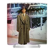 It's A Wonderful Life Shower Curtain