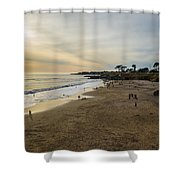 Its Beach Afternoon In Santa Cruz Shower Curtain