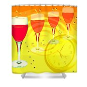 Its Five O'clock Somewhere Shower Curtain