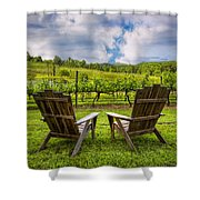 It's Happy Hour Shower Curtain
