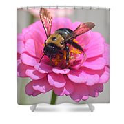 It's Mine Said The Bee Shower Curtain