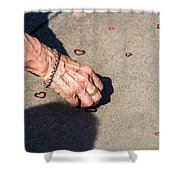 It's Never Late To Love - Featured 3 Shower Curtain