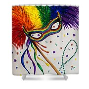 It's Party Time Shower Curtain