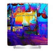 Its Raining Jelly Fish At The Monterey Bay Aquarium 5d25177 Square Shower Curtain