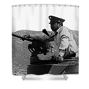 Ivan Dixon Suppose They Gave A War And Nobody Came Golder Dam Tucson Arizona 1969 Shower Curtain