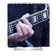 I've Got The Blues Shower Curtain