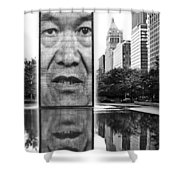 I've Just Seen A Face Shower Curtain