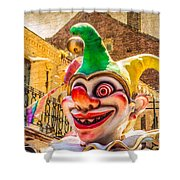 I've Never Liked Clowns Shower Curtain