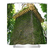 Ivy Along The Watchtower Shower Curtain