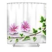 Ivy And Mallow Shower Curtain
