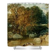 Ivy Bridge Shower Curtain