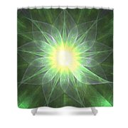 Ivy Leaves Shower Curtain