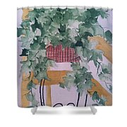 Ivy Shower Curtain by Sherry Harradence