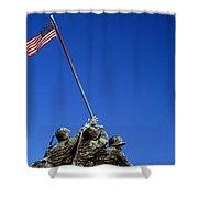 Iwo Jima Memorial At Arlington National Shower Curtain