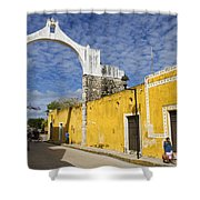 Izamal And It's Famous Arch Shower Curtain