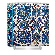 Iznik 12 Shower Curtain