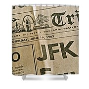 J F K Remembrance Shower Curtain