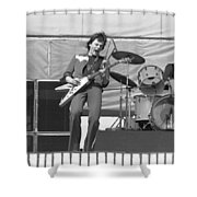 J. Geils At Day On The Green 1976 Shower Curtain