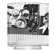 J. Geils Band In Oakland 1976 Shower Curtain
