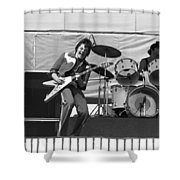 J. Geils On Stage In Oakland 1976 Shower Curtain