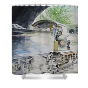 J15 564 Leaving Sheringham Shower Curtain