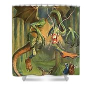 Jabberwock Shower Curtain