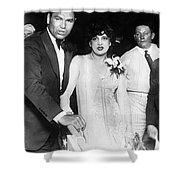 Jack Dempsey & Estelle Taylor Shower Curtain