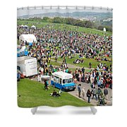 Jack In The Green Festival 2014 Shower Curtain
