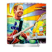 Jack Johnson Shower Curtain