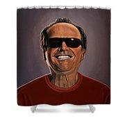 Jack Nicholson 2 Shower Curtain