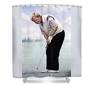 Jack Nicklaus Shower Curtain