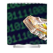 Jack Of All Computer Trades Shower Curtain