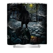 Jack The Ripper Shower Curtain