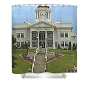 Jackson County Courthouse Shower Curtain