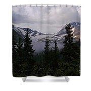 Jackson Glacier Shower Curtain