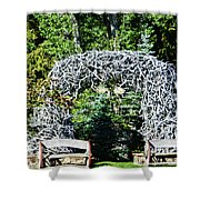 Jackson Hole Wyoming Shower Curtain