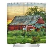 Jackson Orchard Shower Curtain