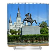 Jackson Square 1 Shower Curtain