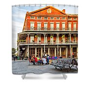 Jackson Square Reading Shower Curtain