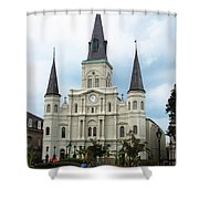 Jackson Square Shower Curtain