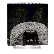 Jackson Town Square Shower Curtain