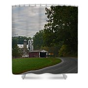 Jackson's Sawmill Covered Bridge Shower Curtain