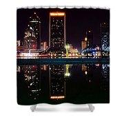 Jacksonville Panoramic Shower Curtain