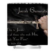 Jacob Generation Shower Curtain